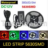12v RGB flexible led strip 60leds 5m 5050 led strip light waterproof