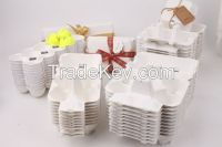 High quality white 10cell egg cartons egg trays