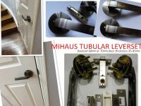 Tubular leverset Privacy door lock, passage door lock, Entry door lockset