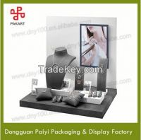 2015 Fashion Popular New Hot Sale wood/mdf jewelry display stand/Rack