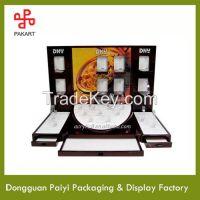 Fashion New Design Acrylic/Wood Watch display Stand/Rack 2015 Dongguan