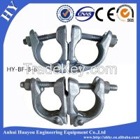 steel scaffolding half swivel couplers