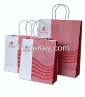 Printing Recycled Paper Bag for Shopping Mall
