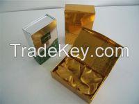 Mirror Golden & Silver Foil Paper Handmade Box