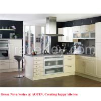 professional modern PVC kitchen cabinet manufacturer