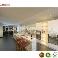 2015 Modern PET Kitchen Furniture Modular Kitchen Cabinet