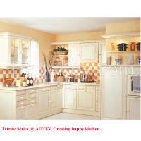 China Professional Maple Wood Kitchen Cabinet Manufacturer