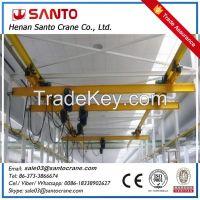 lx model eot single girder hanger underslung overhead bridge crane with ce iso