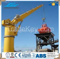 GHE 30T-40M straight boom marine crane