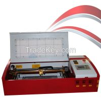 dc K40 laser engraving machine for rubber stamp, wood, leather, paper laser cutter