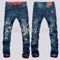 slim skinny denim jeans for men pants