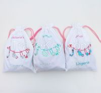 Cute Laundry Line Lingerie Bag