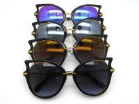 Irregular frame Fashion sunglasses for ladies