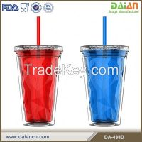 16 oz double wall acrylic tumblers with