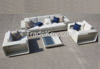 Contemporary furniture outdoor garden used fabrique sofa set