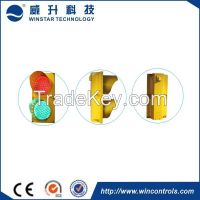 IP 65 200mm PC housing flash led traffic light.
