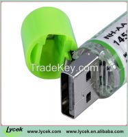 1.2V 1450mAh rechargeable usb battery for wireless mouse