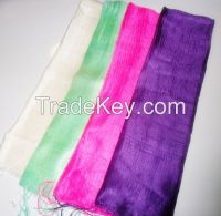 Thai silk scarves 100% silk wholesale fromThailand $2.50