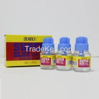 BENBO Manufacturer 65ML PP Box and Color Box Packing Super Glue For sa