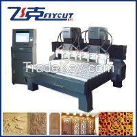 Double Z structure CNC wood relief machine 2025