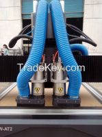 CNC auto change spindles wood router 1325AT2
