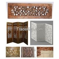 Flat-Rotary 4 heads CNC Wood Engraver, CNC Router Machine