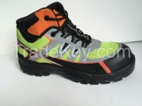 New model steel-toe and steel midsole safety shoes