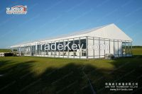 10x30m Party Tent with Glass and ABS Wall