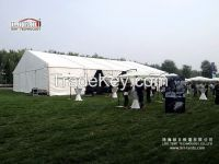 20x25M Outdoor Tent for Longines Masters News Conference