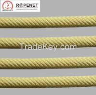 Fire Escape Flame Retardant Aramid Rope Made of Imported Kevlar Fiber