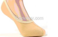 Ms candy color invisible stockings female stockings Shallow mouth ship
