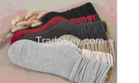 High-grade pure cotton knitted cotton heaps of socks