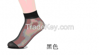 Ms short stockings socks crystal