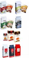 "Ground coffee 240g, 250g TM ""Galca"", TM ""Mason cafe"", TM ""Bank of Coffee"""