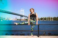 Plus Size Custom Printing Sublimation Yoga Leggings