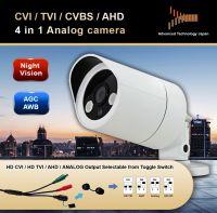 Analog HD-CVI /HD-TVI/ AHD/960H 4 in 1 camera
