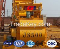 High quality JS500 concrete mixer for sale