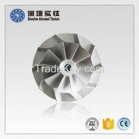 Titanium impeller and turbine casting factory