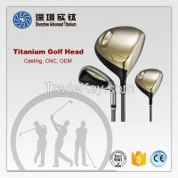 Titanium golf club head casting factory