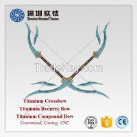 High quality titanium compound bow recurve bow crossbow casting factory