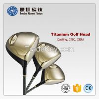Titanium golf club head casting factory