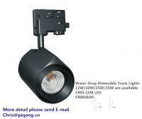 45W track lights dimmable compatible with many dimmers