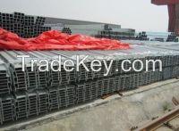 Standard SS 400 Grade Q235 UPN Channels