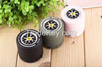 2016 new design tyre shape mini bluetooth speaker