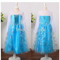 Princess Frozen  Dressup Costume Dress