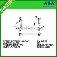OE radiator for  OPEL BIPPER(AA_) 1.4 08-