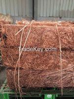 copper scrap 99.9% min