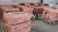 Copper wire scrap Millberry Copper  99.9% purity