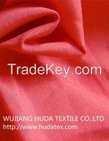 100 polyester micro fiber peach skin fabric