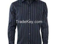 Blue On Black Corporate Shirt Clothing Manufacturers USA